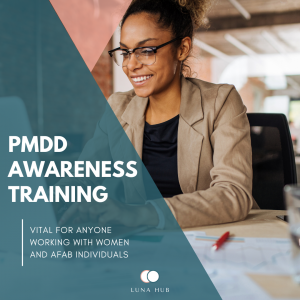 PMDD Awareness Training with business psychologist Clare Knox
